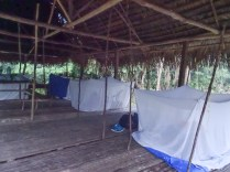 The not so luxurious hut