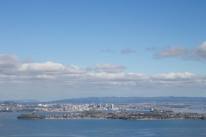 Auckland from a distance