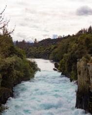 Haka Falls upstream