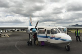 Our 8 -seater plane to Ambrym
