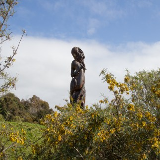 Statue at Karaka Point