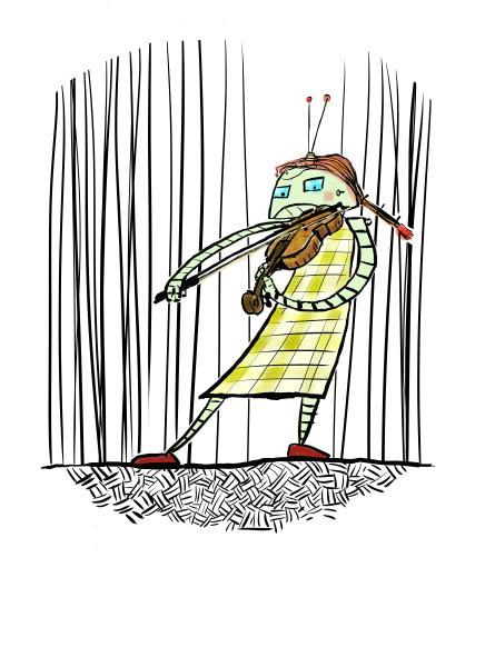 fiddle robot