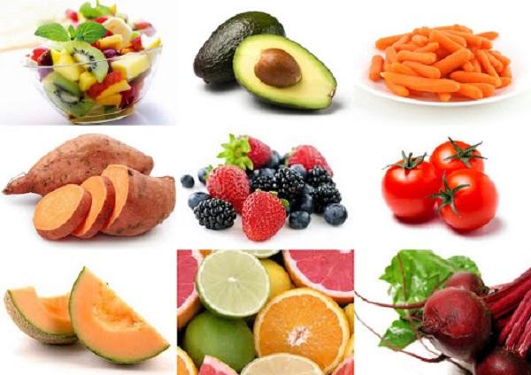 Thực phẩm hoa quả bổ sung vitamin tốt cho tinh trùng bị dị dạng hoàn thiện