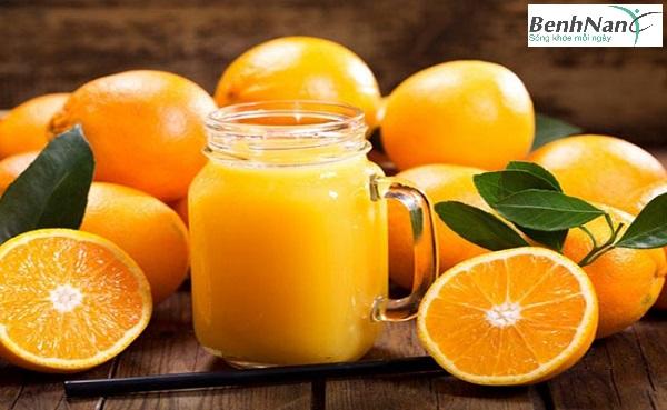 Lợi ích của việc uống nước cam