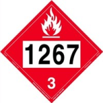 Placard 1267 Crude Oil