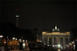 Brandenburger Tor is in preparation for celebration