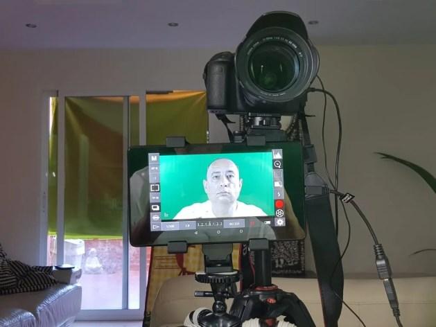 Green screen setup Benidorm Blog, update technologie