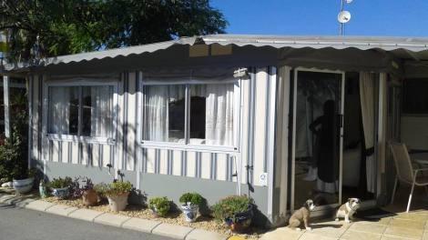 hobby landhouse with ben eiller awning benidorm