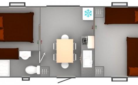 Trigano Sencilo Floor plan