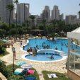Swimming pool at Camping Villasol Campsite in Benidorm