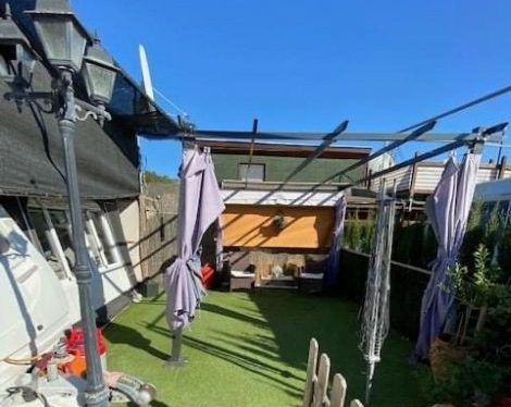 A touring caravan for sale on Camping Benisol Campsite In Benidorm