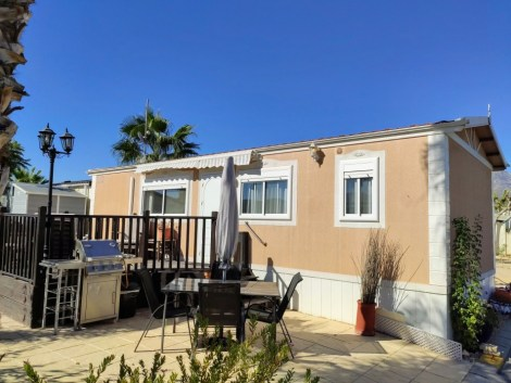 Mobile home for sale on Camping Almafra Campsite in Benidorm