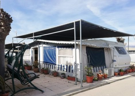 Preowned Static Touring Caravan For Sale In Benidorm