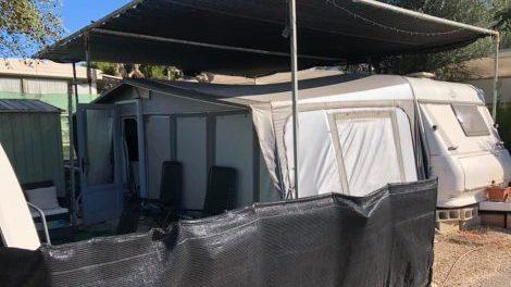 Touring caravan for sale on Cmaping la Torreta in Benidorm