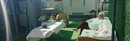 Caravan and awning for sale in Benidorm