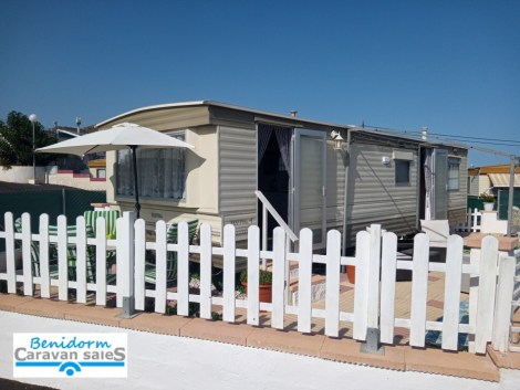 Resale static caravan for sale on the Costa Blanca