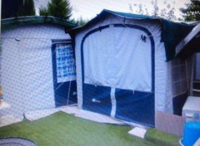 Used touring caravan for sale on Camping La Torreta Campsite in Benidorm