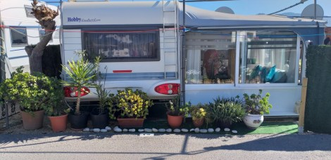Preloved static caravans for sale on Camping Benisol Campsite in Benidorm