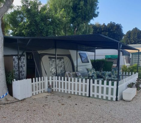 Tabbert Vivaldi touring caravan and awning for sale in Torrevieja