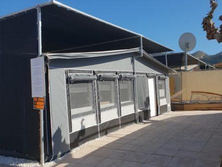 A touring caravan for sale on Camping Villamar Campsite in Benidorm