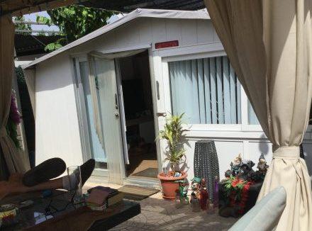 A statuc touring caravan for sale on Camping Villasol Campsite in Benidorm