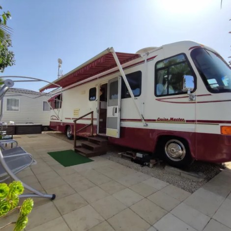 Motorhome for sale on Camping almafra Campsite
