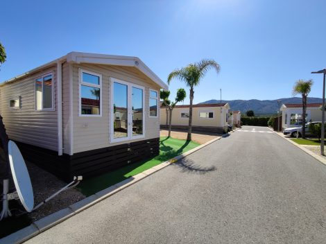 Used mobile home for sale on Camping Almafra Campsite in Benidorm