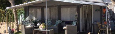 Caravans for sale on Camping Arena Blanca Campsite in Benidorm