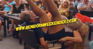 Pensioners Behaving Badly in Benidorm
