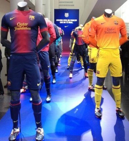 Le maillot Barça 2013