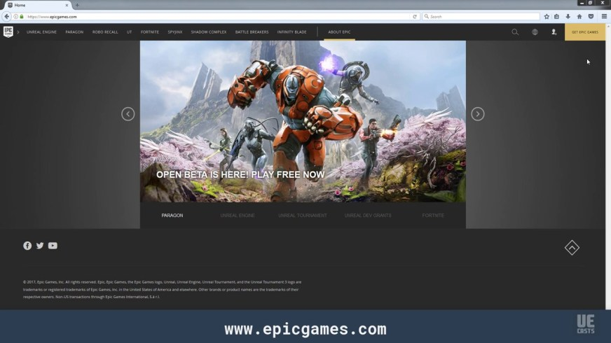 Setting up the Epic Games Launcher on Windows 7 | UECasts ...