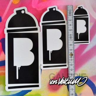 B-logo, beni-Sticker, Aufkleber, Stickers, Stickerdude, beni-logo, Graffiti-logo