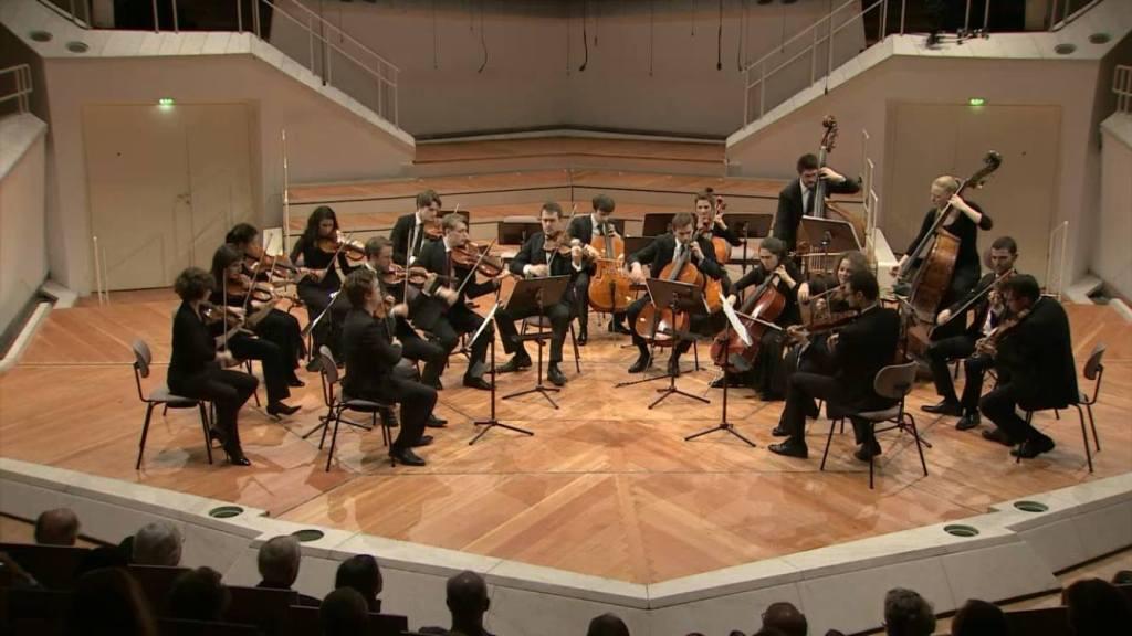 Chamber music Benjamin Beck Christian Tetzlaff Berliner Philharmonie