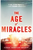 Advent 3: Book review- The Age of Miracles (with a side order of 50 shades...)