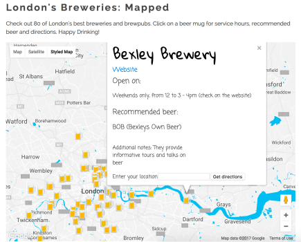 Built for interactive data dashboard on craft beer in London. Web page here: http://igor.gold.ac.uk/~bcool001/portfolio/beer-dashboard/beer-dashboard.html