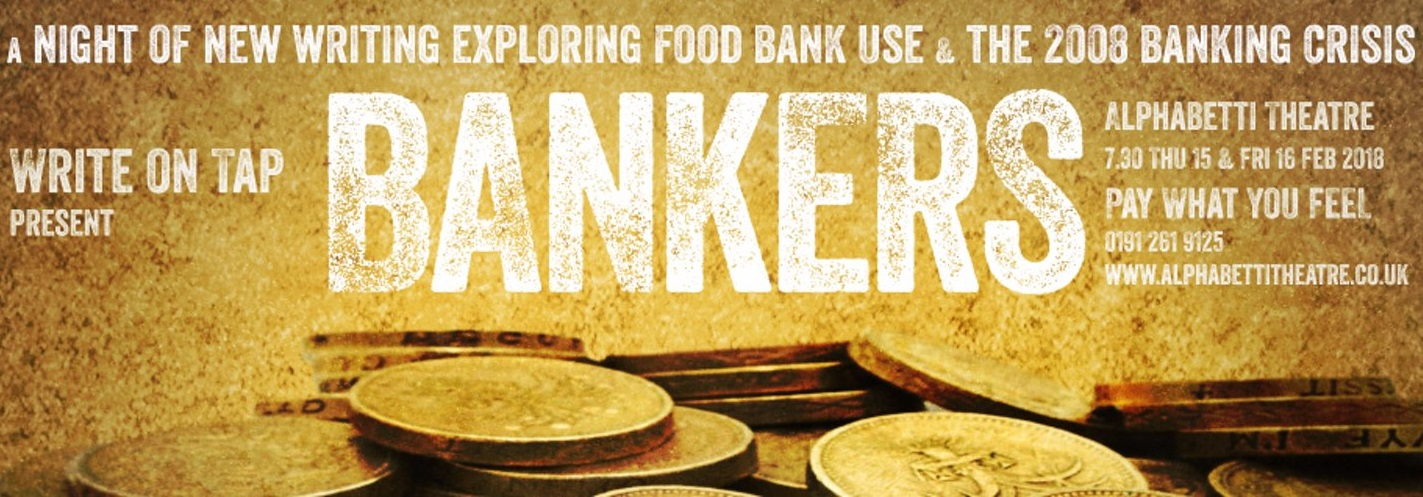 Bankers, a theatre play written by Ben Dickenson with others