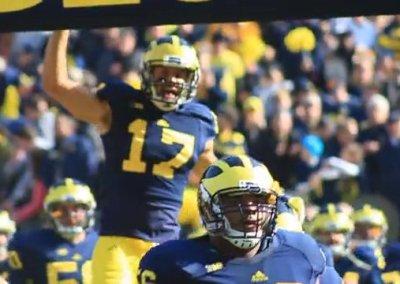 Michigan Alumni Football Saturday Promo (2014)