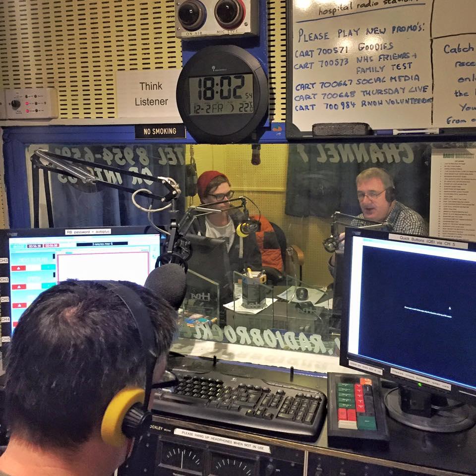 Radio Brockley, Interview with Benjamin Gow