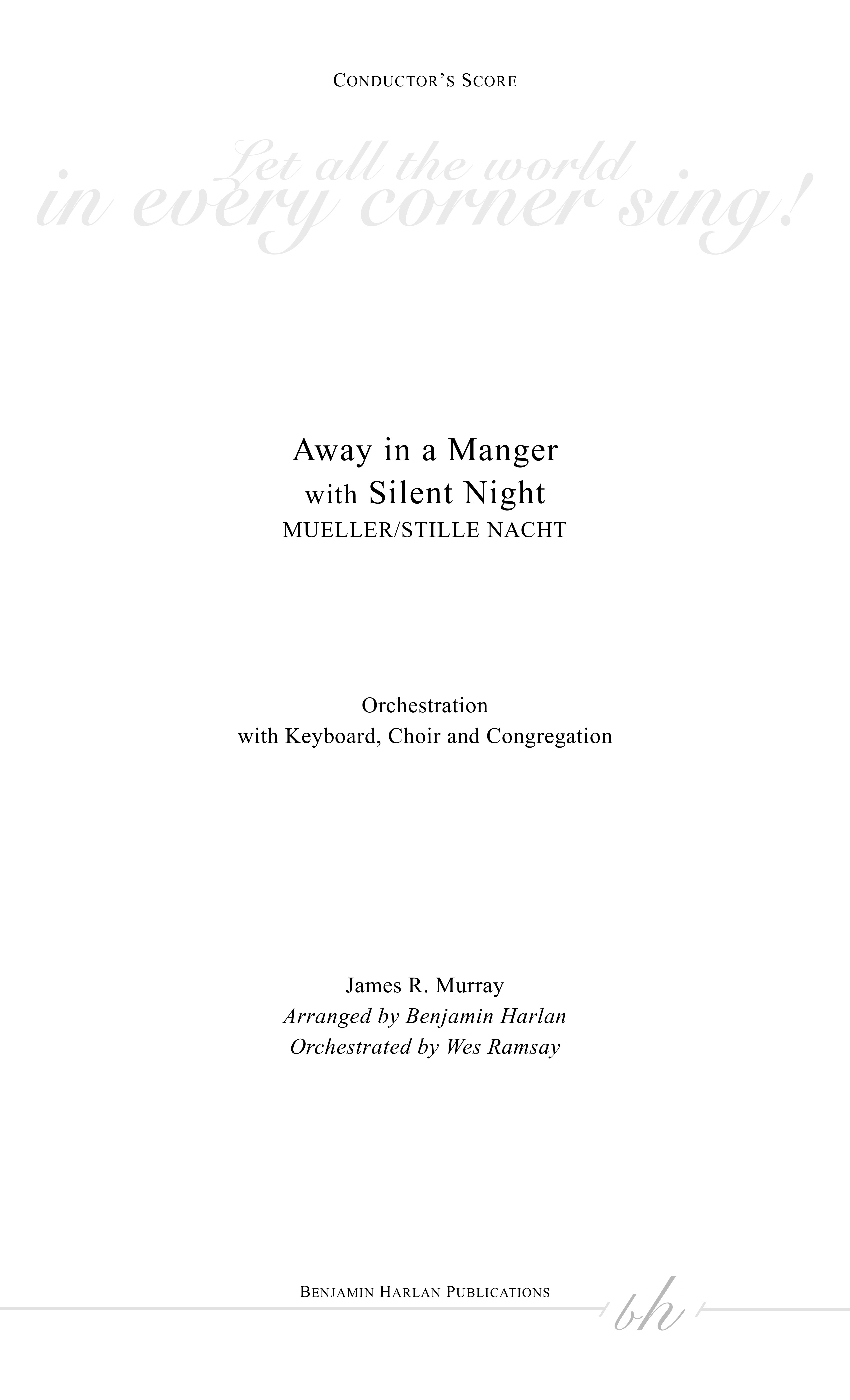 Away in a Manger/Silent Night ORCH