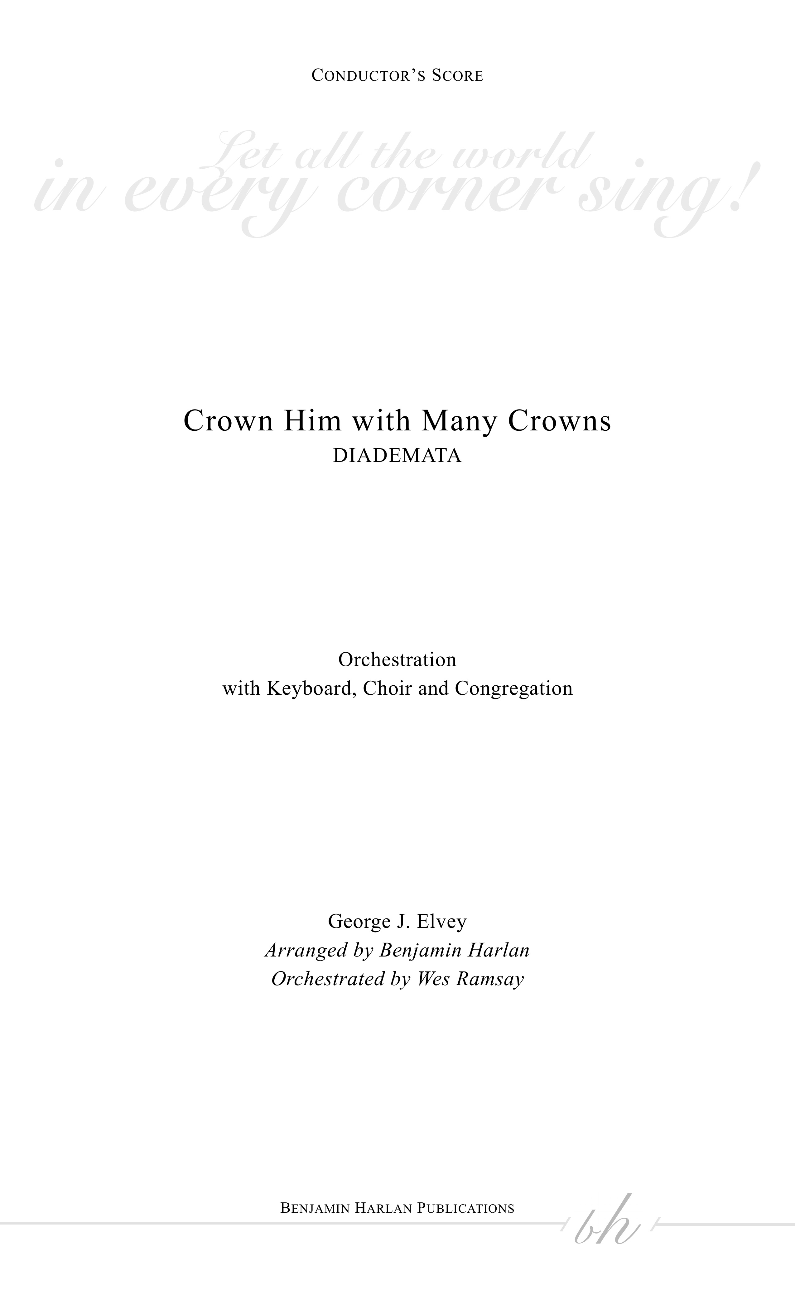 Crown Him with Many Crowns ORCH