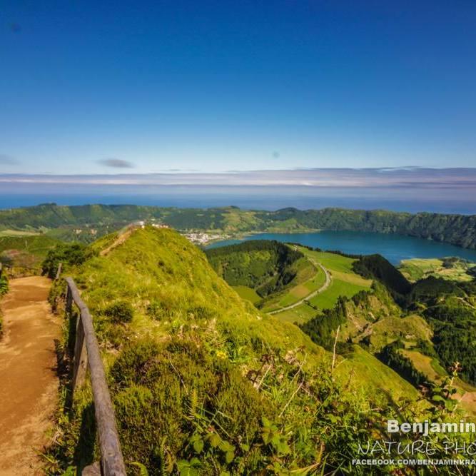 sete cidades sao miguel azoren portugal