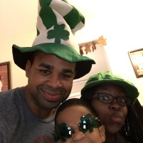 St Patrick's Day.