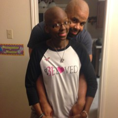 I shaved my head as my wife was taking chemo