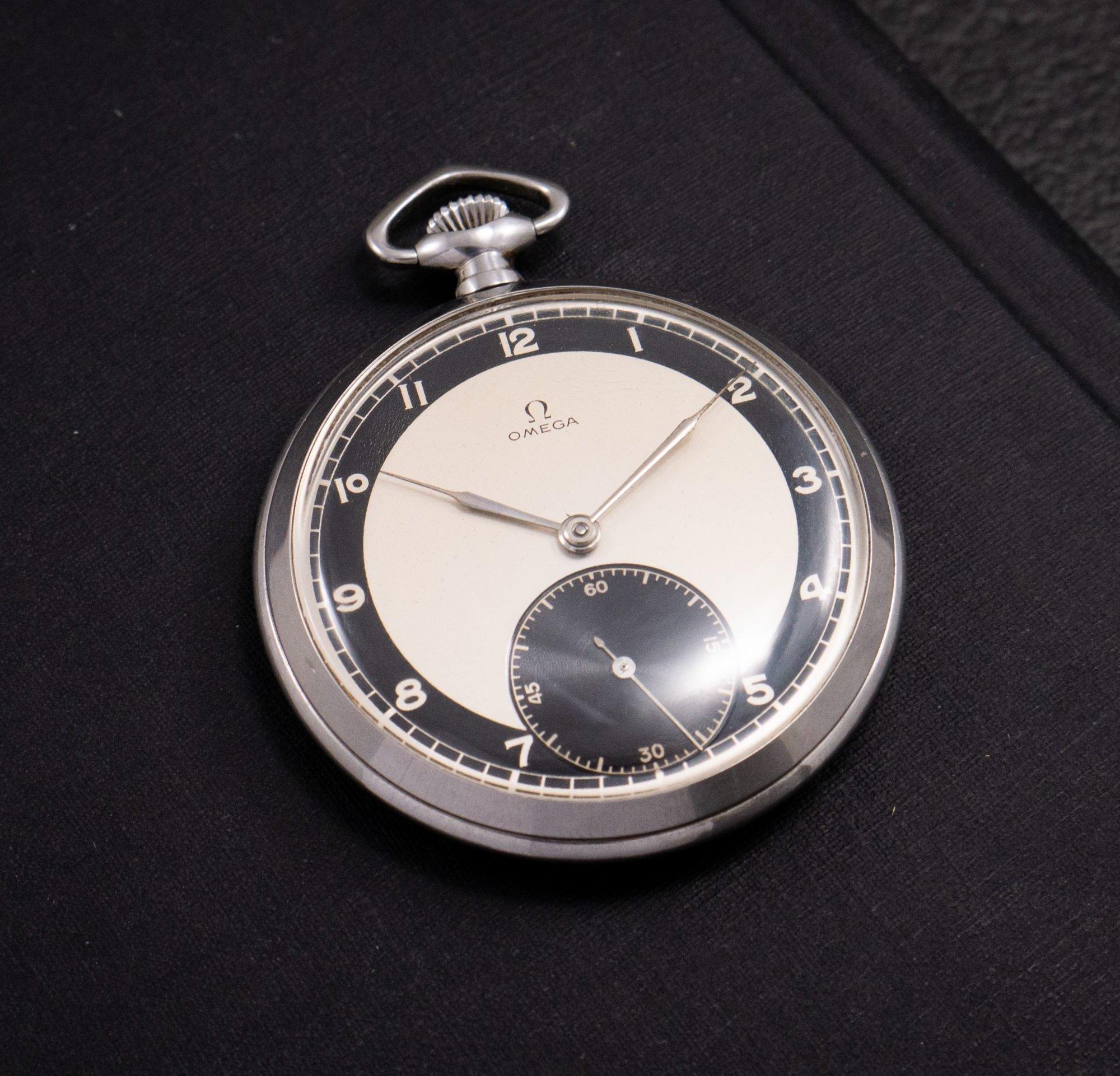 Product Photo Omega Pocket Watch Art Deco Shy 10