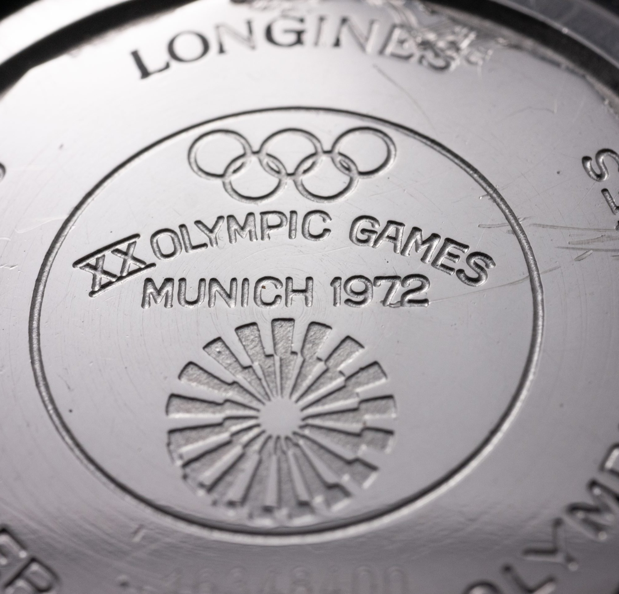 vintage Longines Admiral HF Olympic 1972 München