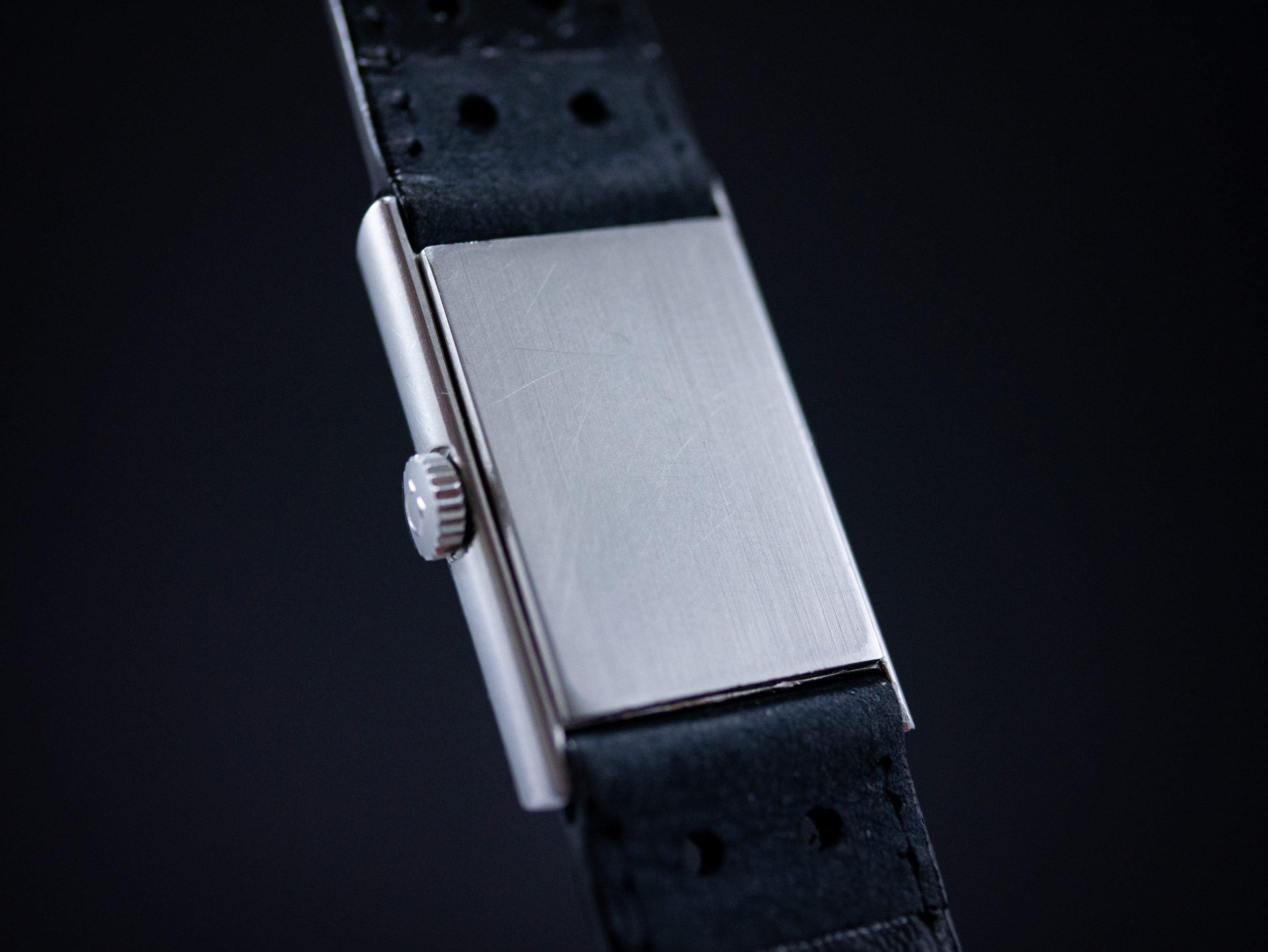 Vintage Omega De Ville Hand wound cal 1070 blue dial