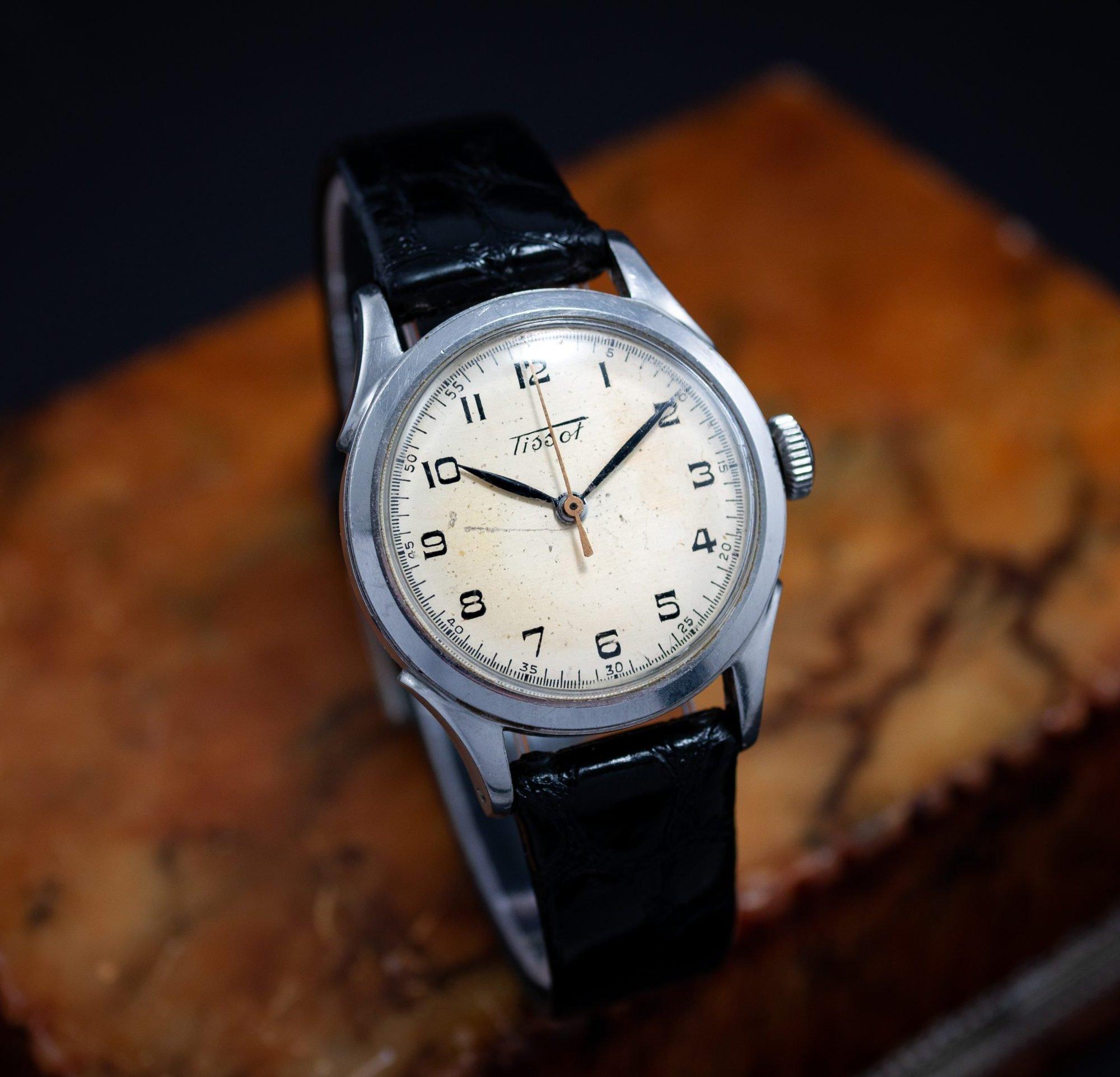 vintage Tissot 'Antimagnetique' ref 5713-1