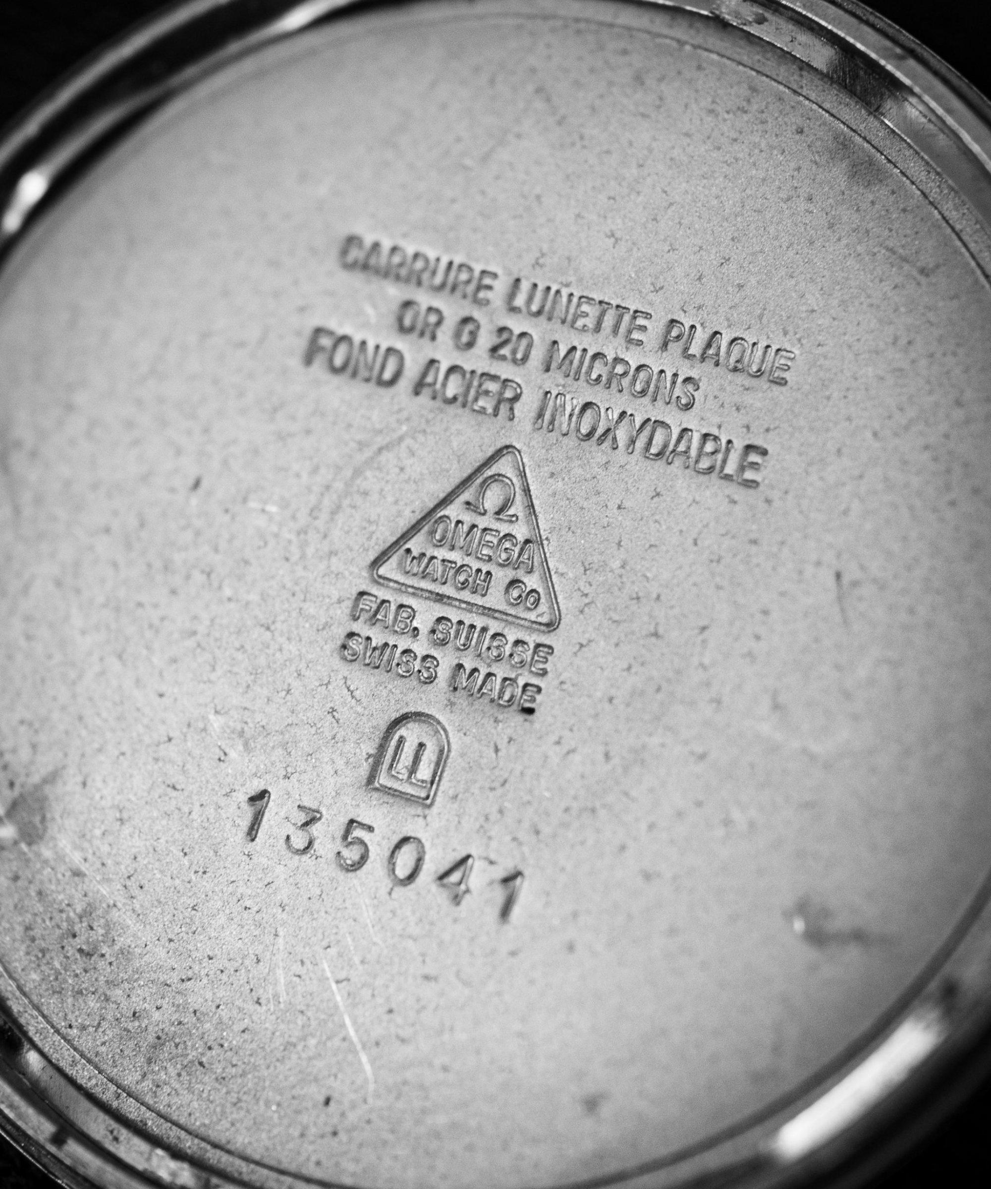 Vintage Omega Geneve cal. 601 ref. 135041