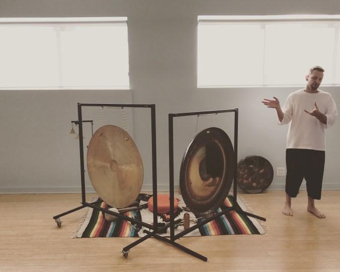 Benjamin Savage Gong Meditations Tejas Yoga Chicago