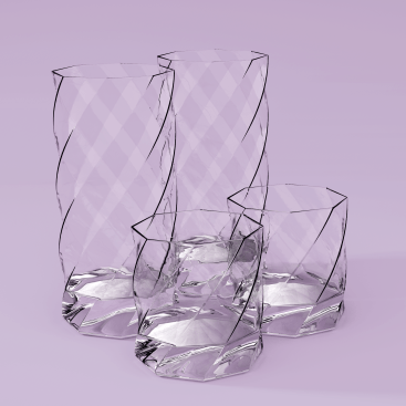 Twisted glass render (pink cropped 1x1)